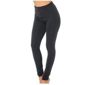 Pants - Fleece Lined Solid Leggings